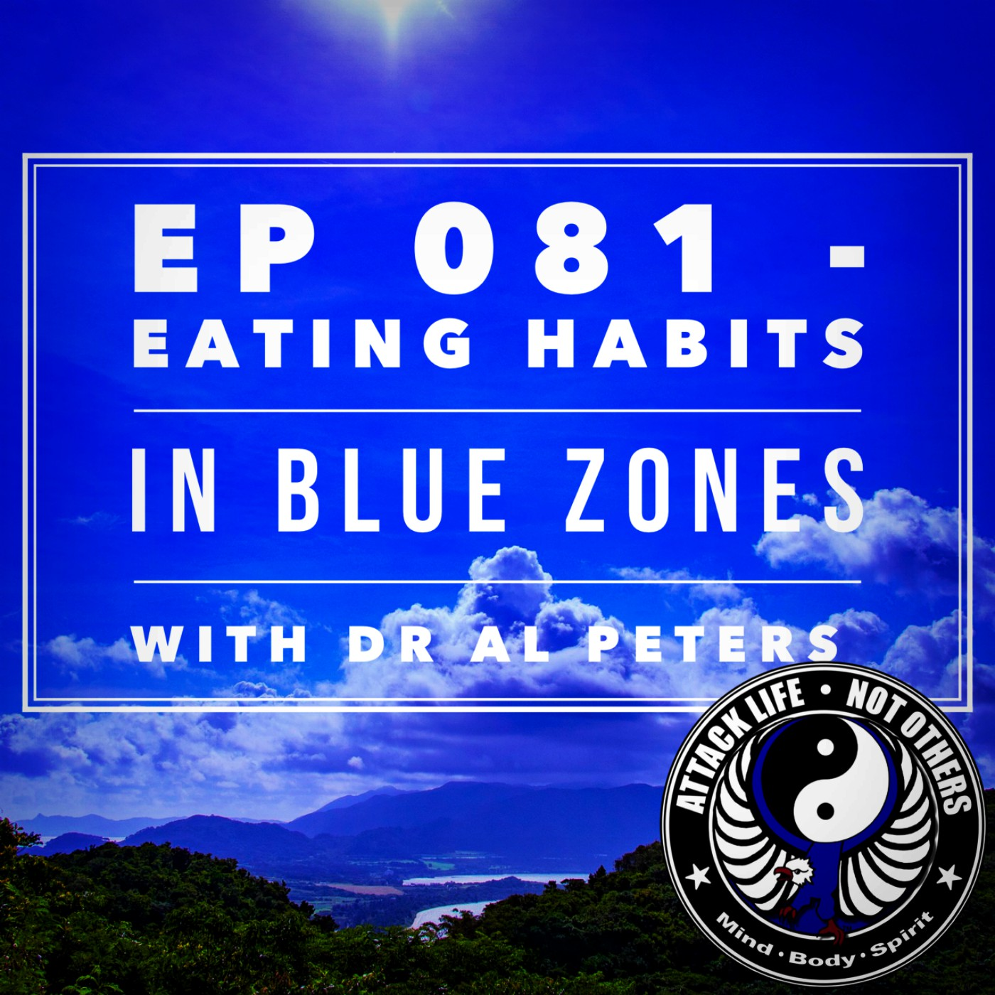 Artwork for Ep 081 - Eating Habits in Blue Zones with Dr Al Peters