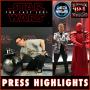 Artwork for 194: The Last Jedi Press Highlights