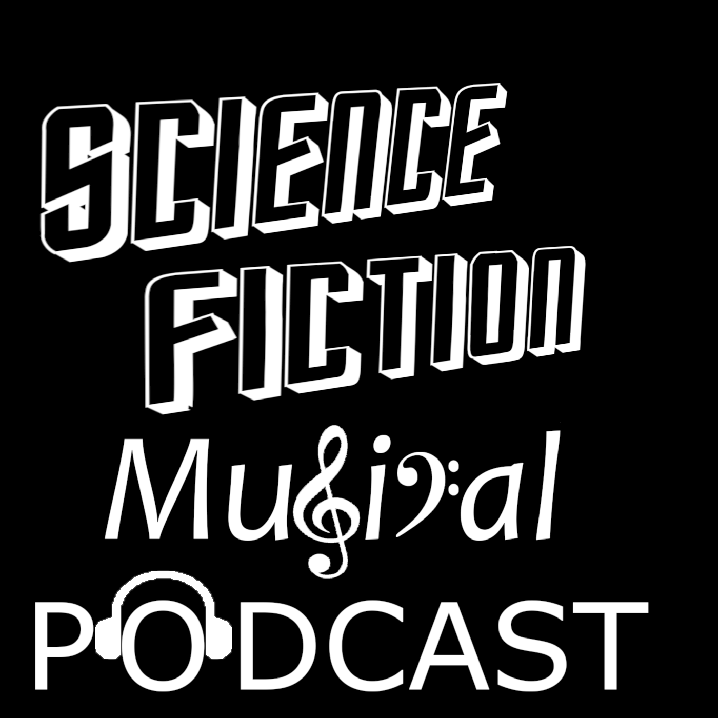 Science Fiction Musical Podcast show art
