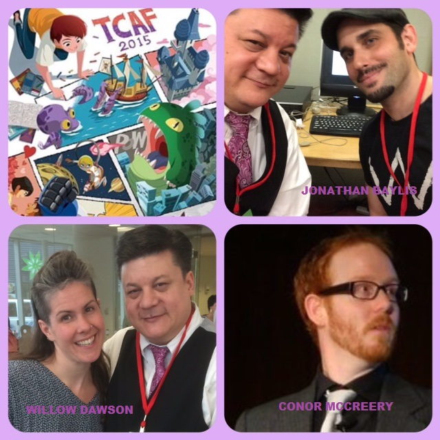 Episode 610 - TCAF: Jonathan Baylis/Willow Dawson/Conor McCreery!