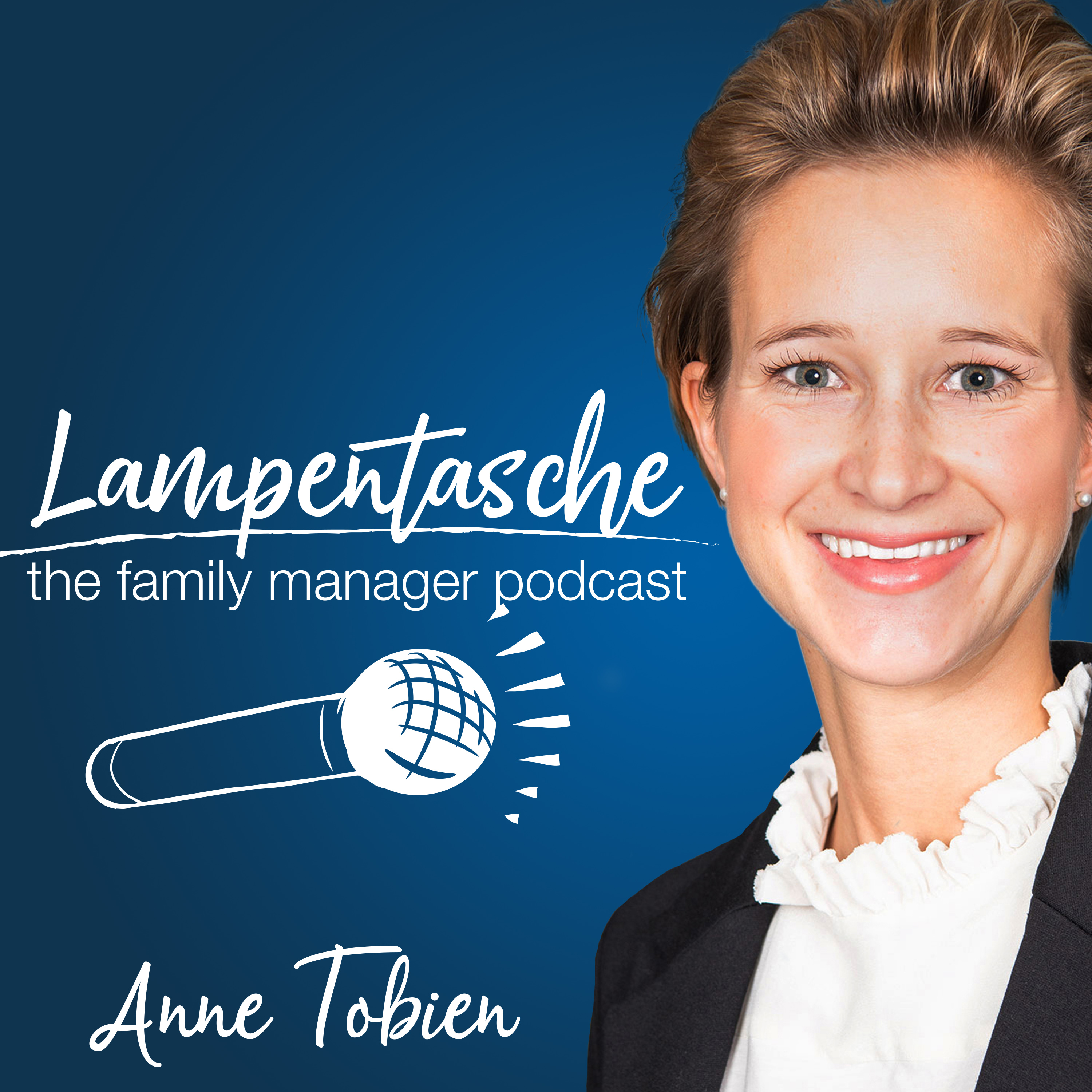 Lampentasche - the family manager podcast show art