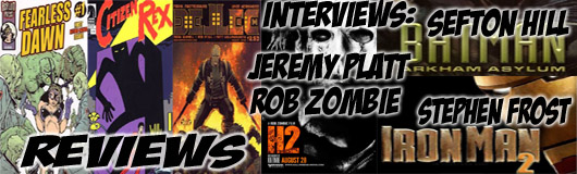 Episode 212 - Jeremy Platt (The Violent Kind) & Rob Zombie (Halloween 2), Sefton Hill (Arkham Asylum),Stephen Frost(Iron Man 2)