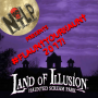 Artwork for #FlauntYourHaunt with Brad Wymore of Land of Illusion