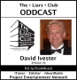 Artwork for The Liars Club Oddcast # 099 | David Ivester, Marketing and Publicity Director