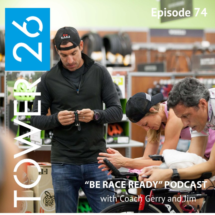 Episode #74: INTRODUCING the TOWER 26 Triathlon Training Program