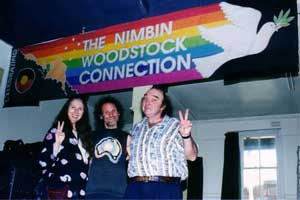Bo Kaan does the Nimbin Markets - August 17