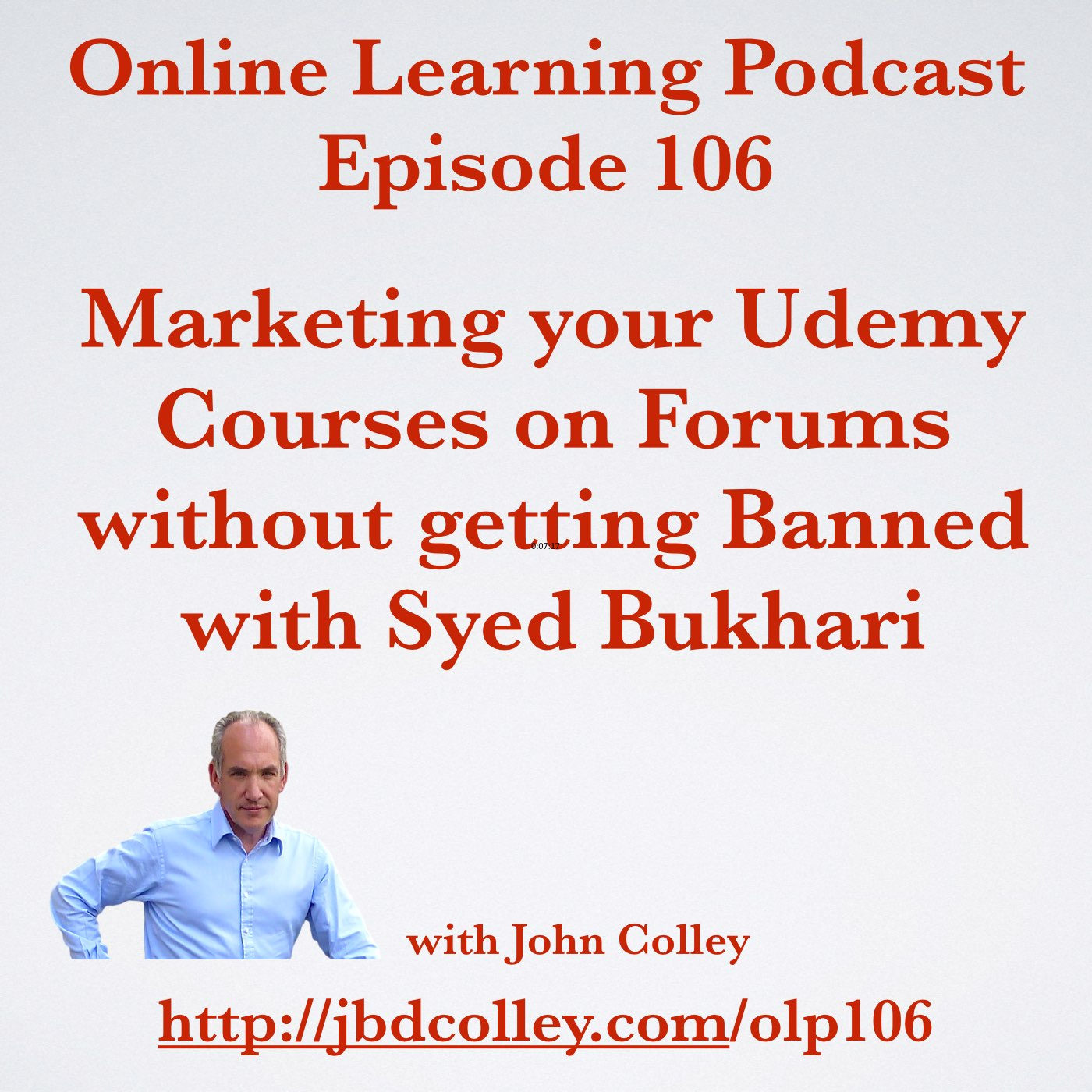 The Online Learning Podcast: OLP106 Marketing Udemy Courses