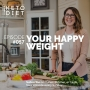 Artwork for #057 Your Happy Weight with Daniele Della Valle
