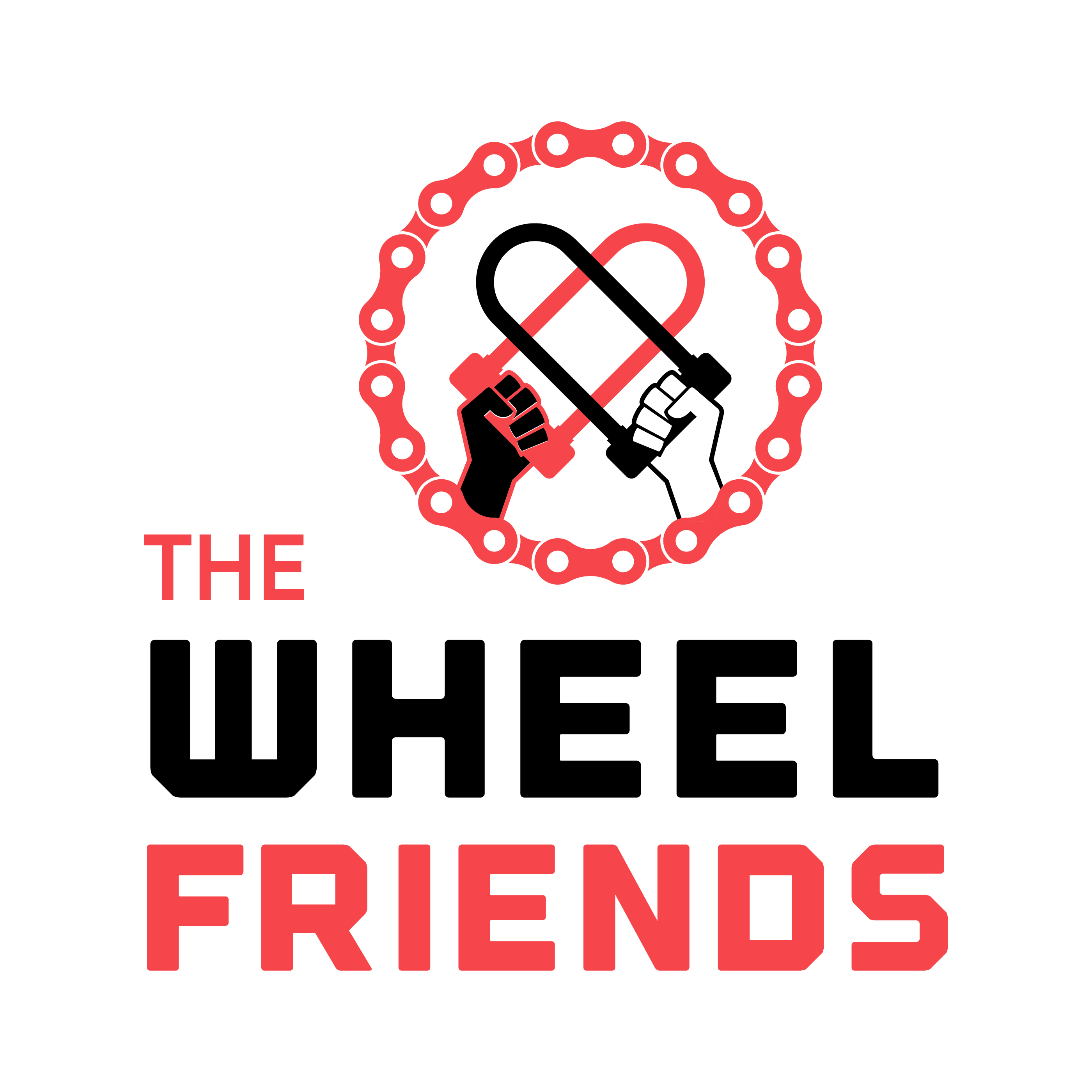 The Wheel Friends Podcast show art