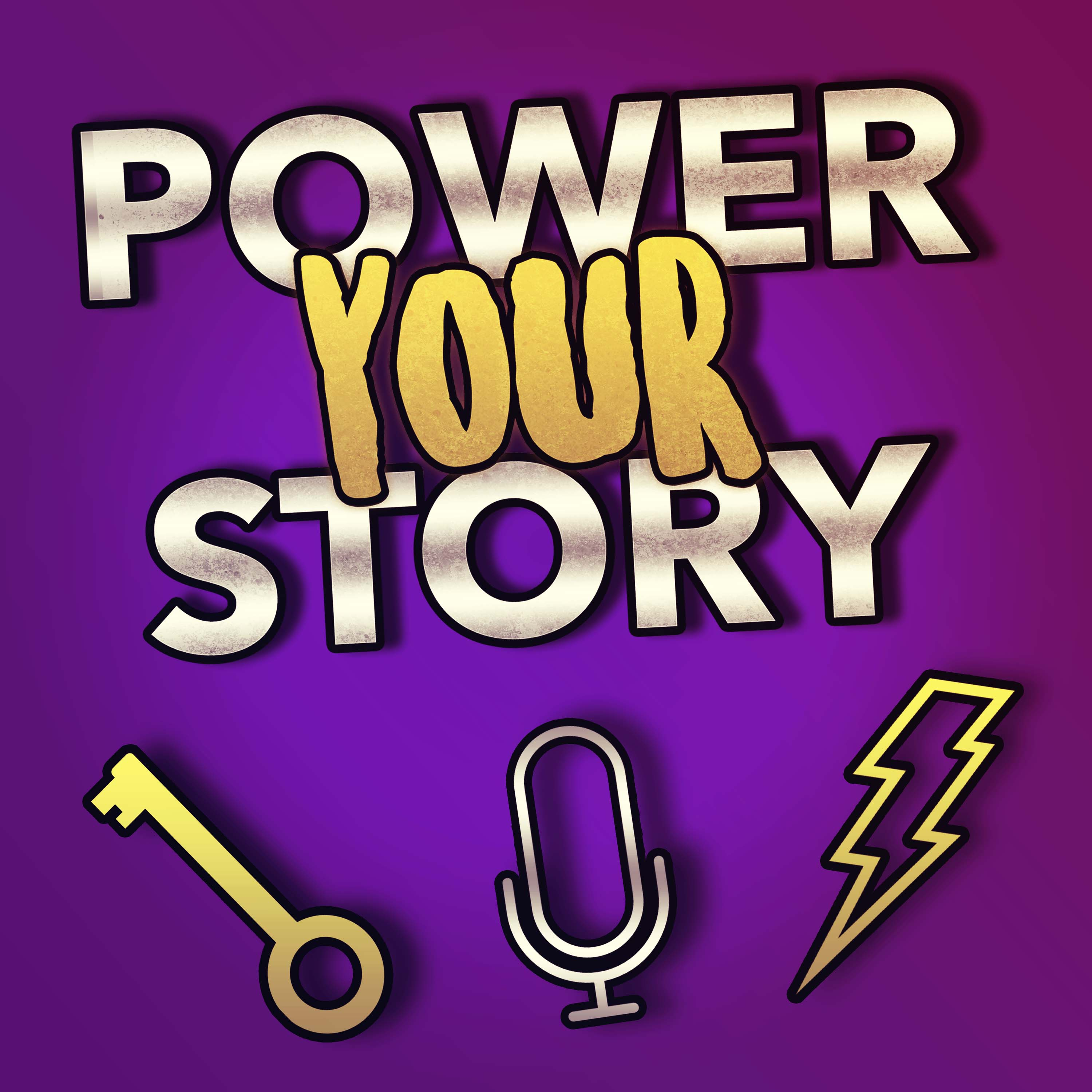 Power Your Story show art