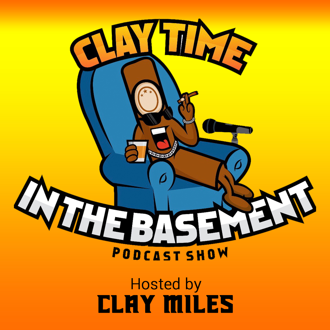 CLAY TIME IN THE BASEMENT PODCAST SHOW show art
