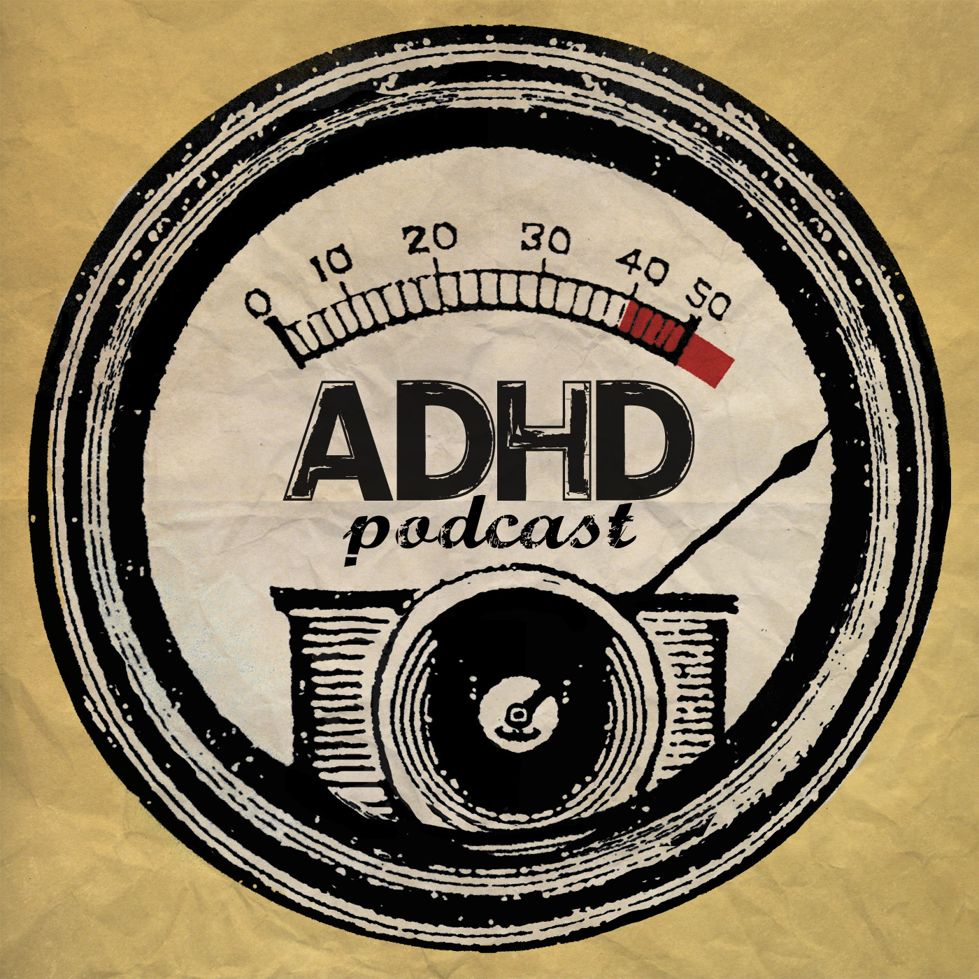 ADHDcast show art