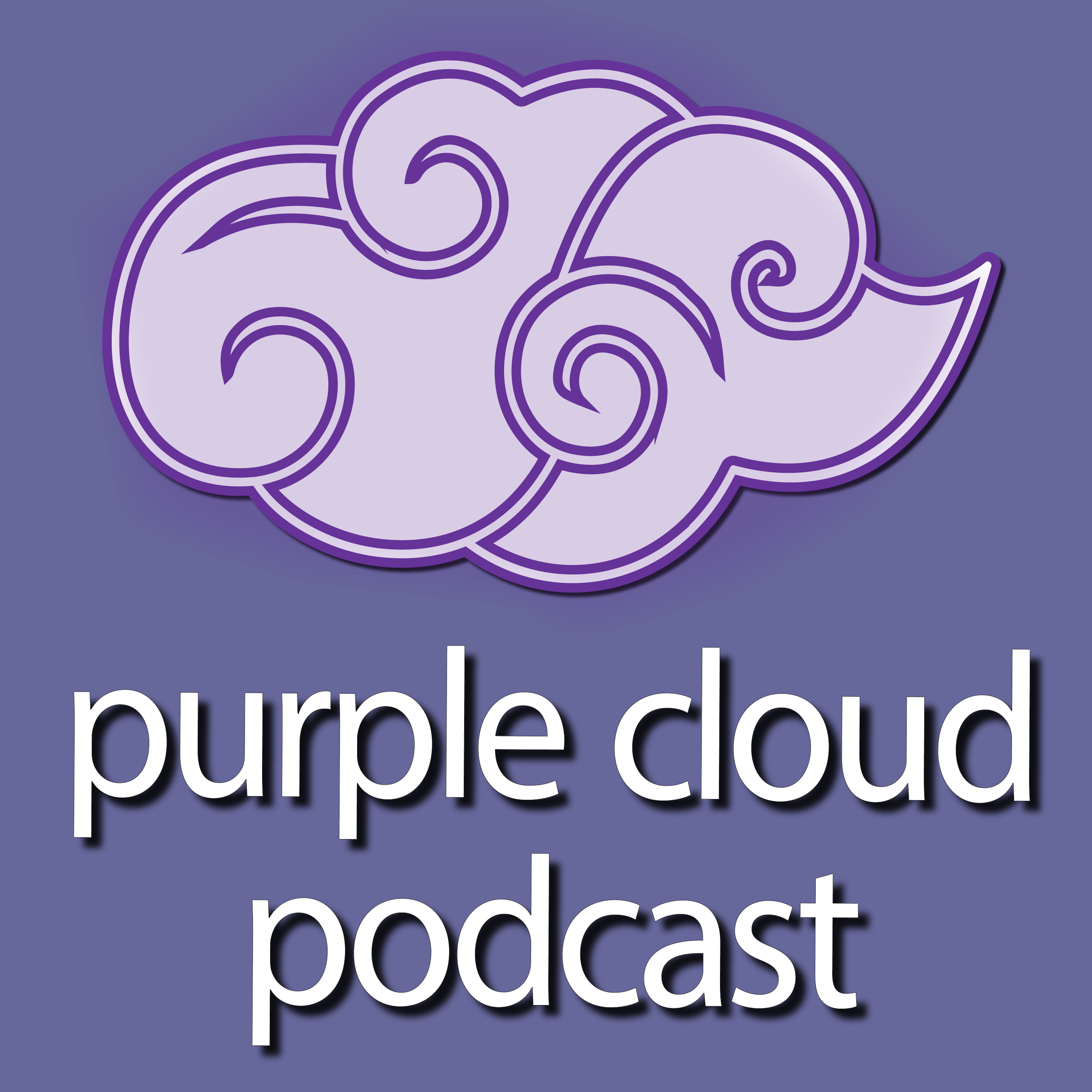 Purple Cloud Podcast show art