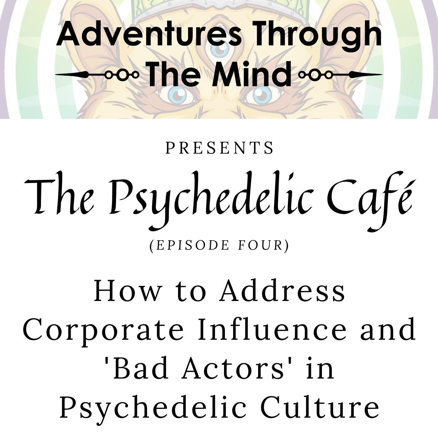 How to Address Corporate Influence and 'Bad Actors' in Psychedelic Culture | Psychedelic Café 4