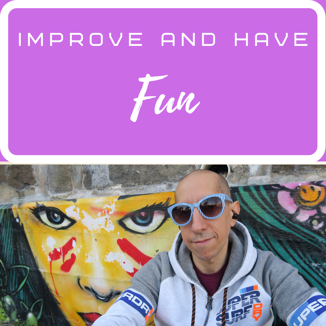 Improve and Have Fun show art