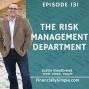 Artwork for The Risk Management Department