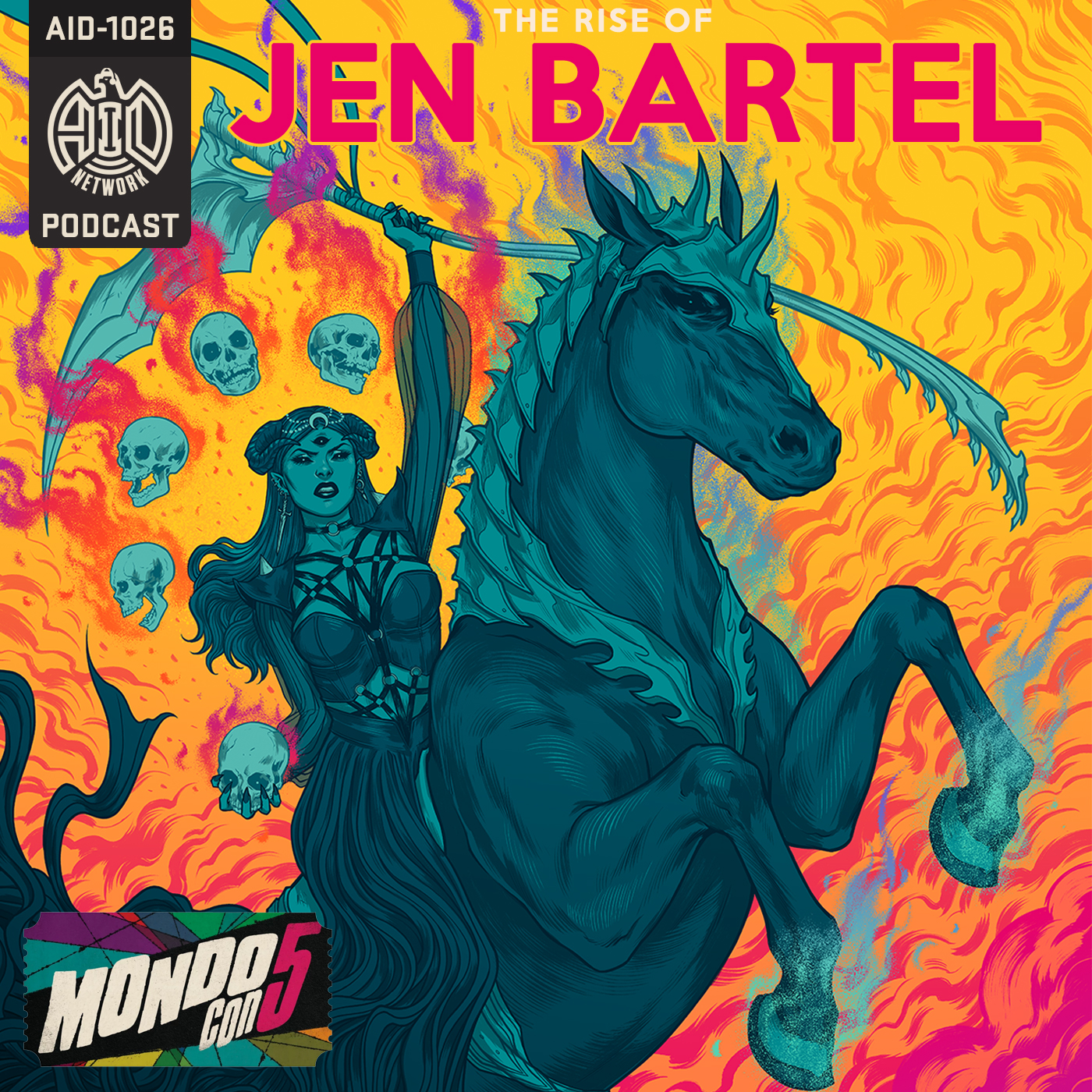 Jen Bartel - Graphic Novel Illustrator show art