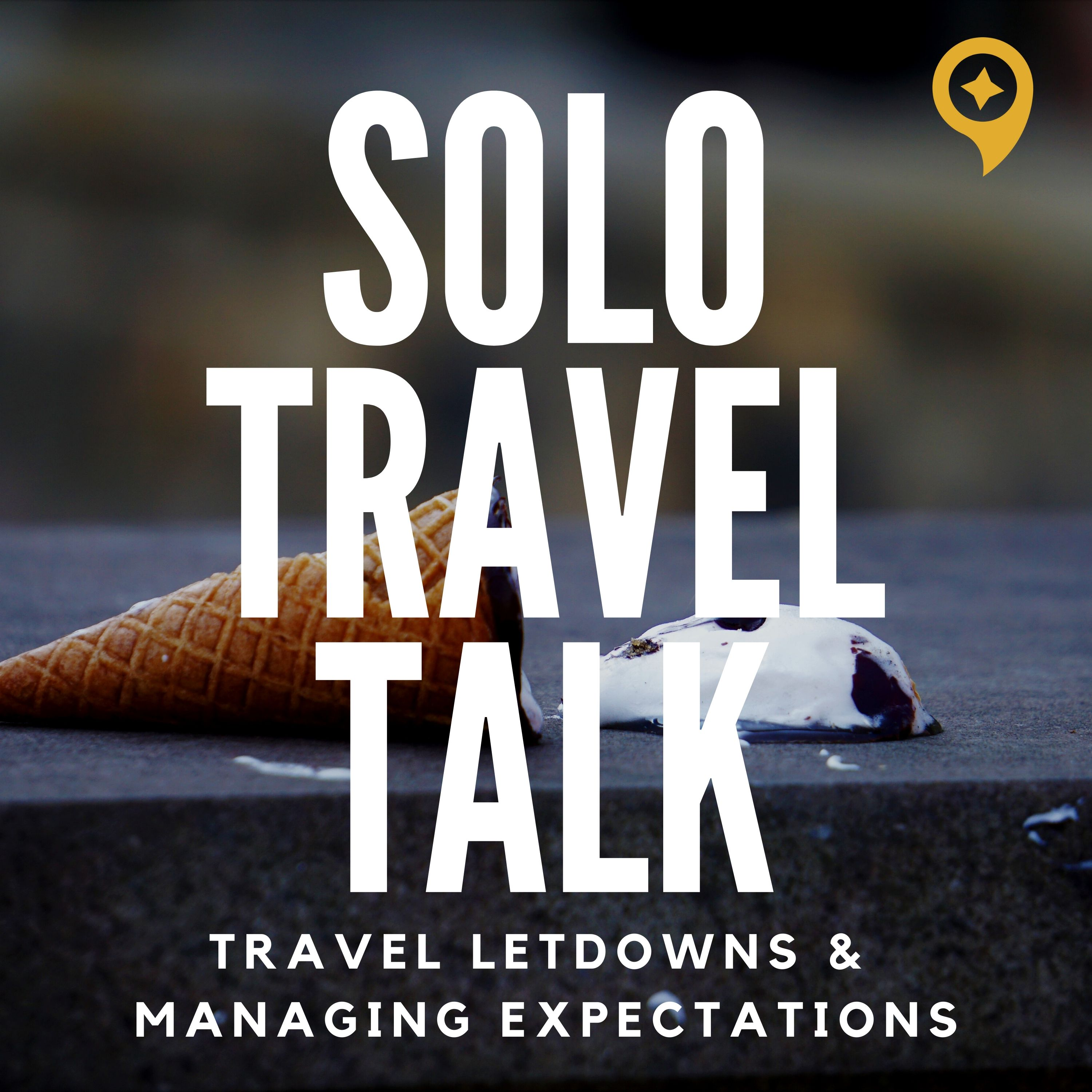 Solo Travel Talk with Astrid show art