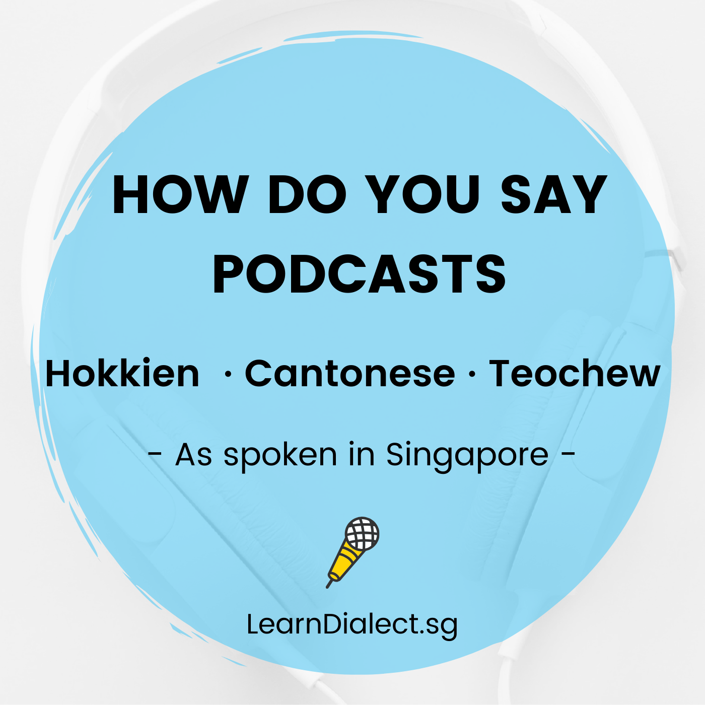 Learn Hokkien · Cantonese · Teochew | Learn Dialect in Singapore show art