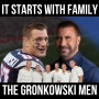 Artwork for It Starts with Family w/ The Gronkowski Men