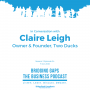 Artwork for In Conversation with Claire Leigh