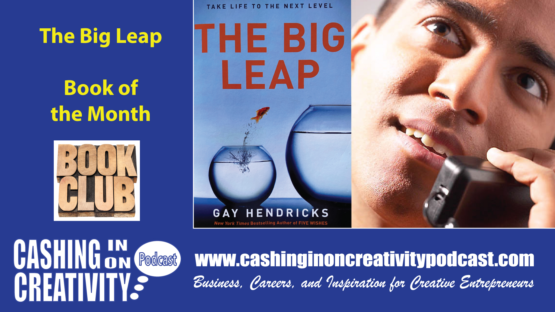 CC259 Take the Big Leap as a Creative Entrepreneur with the Book of the Month