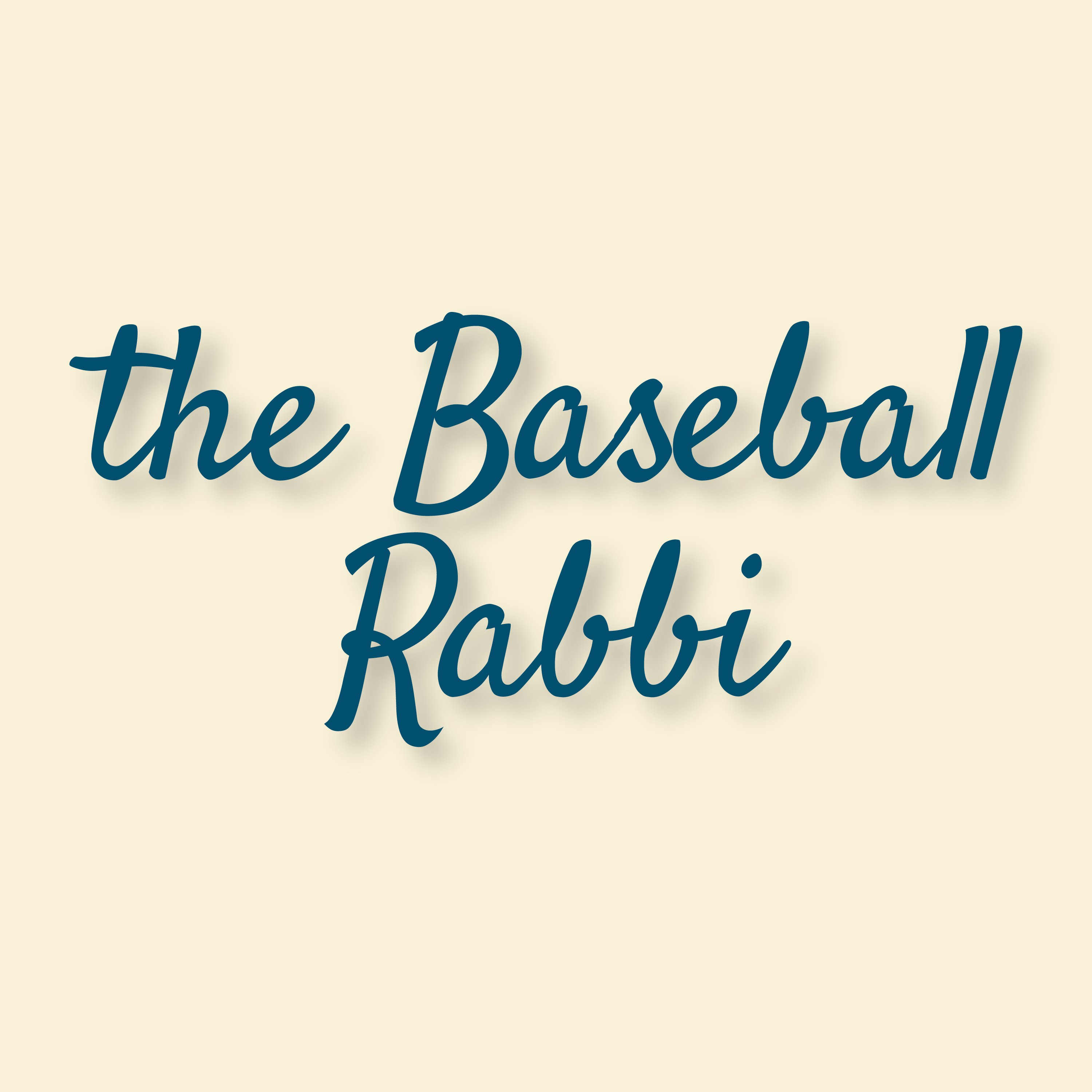 The Baseball Rabbi Podcast show art