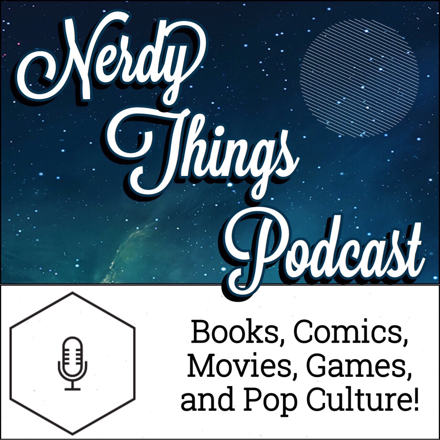 Nerdy Things Podcast show art