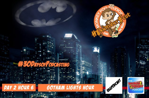 Day 20: Gotham Lights