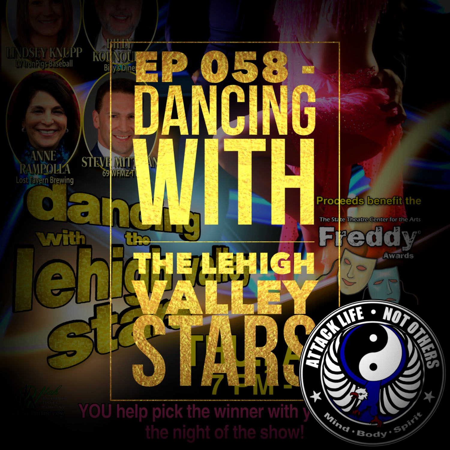 Artwork for Ep 058 - Dancing With The Lehigh Valley Stars