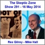 Artwork for The Skeptic Zone #291 - 16.May.2014