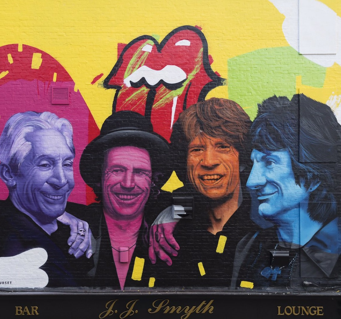 """""""Long Live the Rolling Stones!""""- Dublin,1965"""