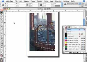 Create that Polaroid look in InDesign CS2