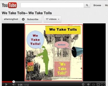 YouTube Promo for Show 69 -- We Take Tolls