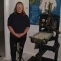 Artwork for Curator Amanda Stevenson on Houston's Museum of Printing History