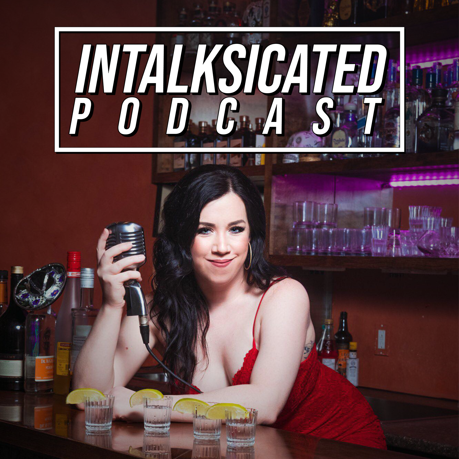 InTalksicated Podcast show art