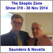 The Skeptic Zone #319 - 30.Nov.2014