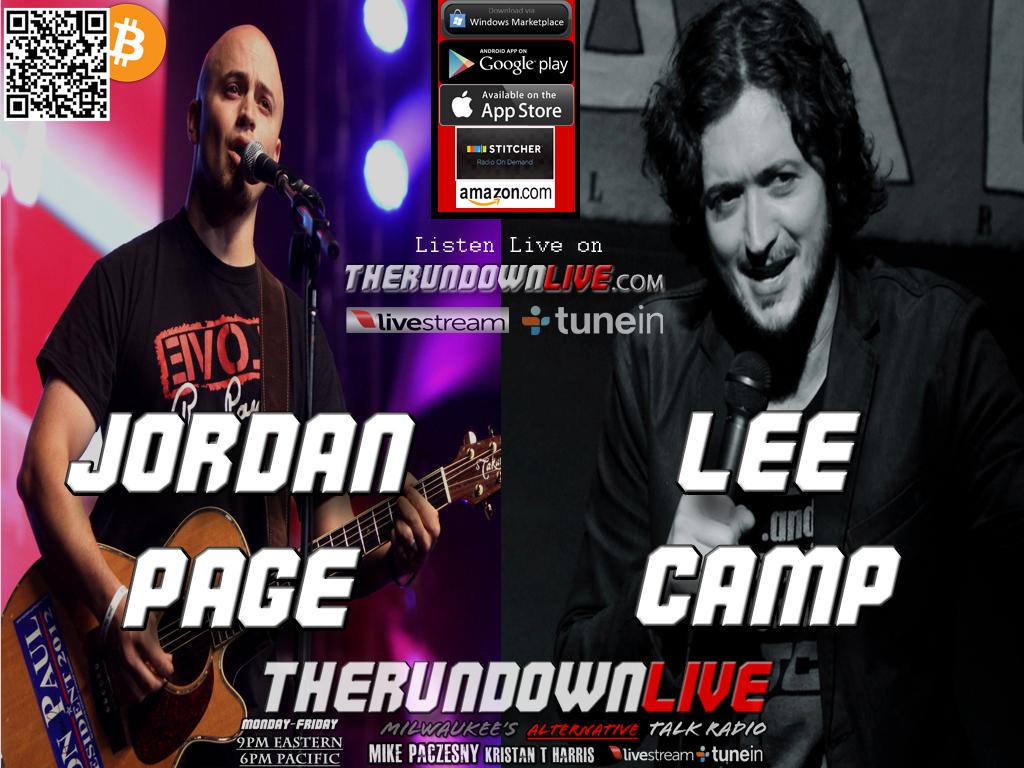 The Rundown Live #337 Jordan Page & Lee Camp (Music Industry,Propaganda)