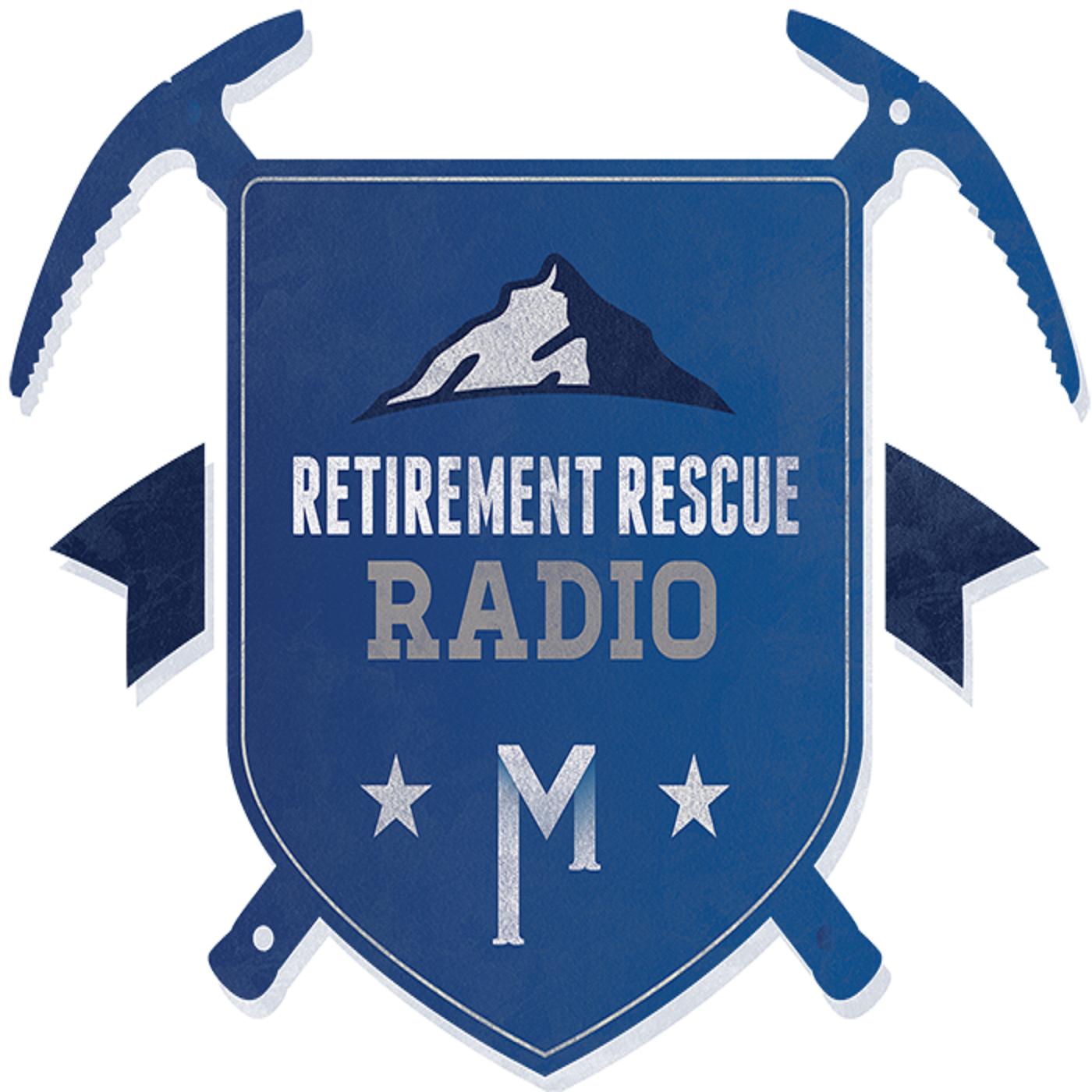 Retirement Rescue Radio show art