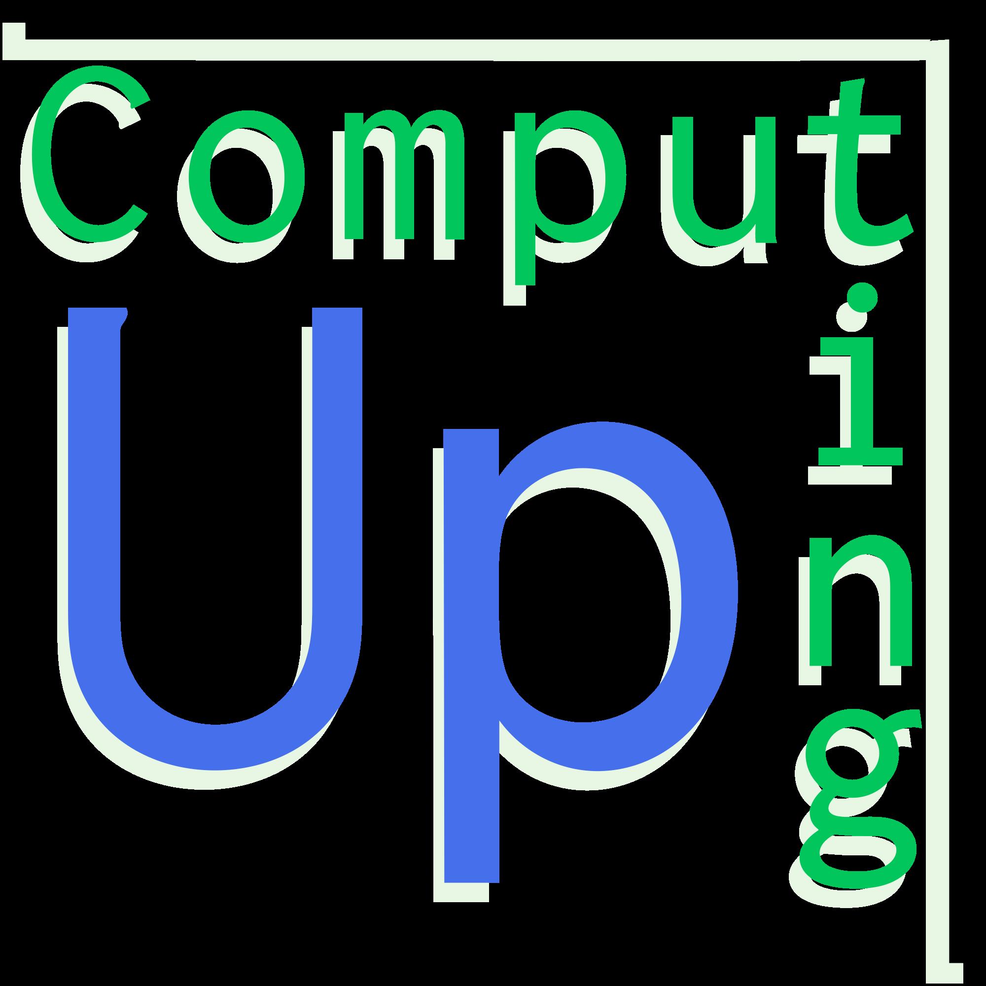 Computing Up show art