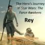 Artwork for Rey's Hero's Journey in The Force Awakens