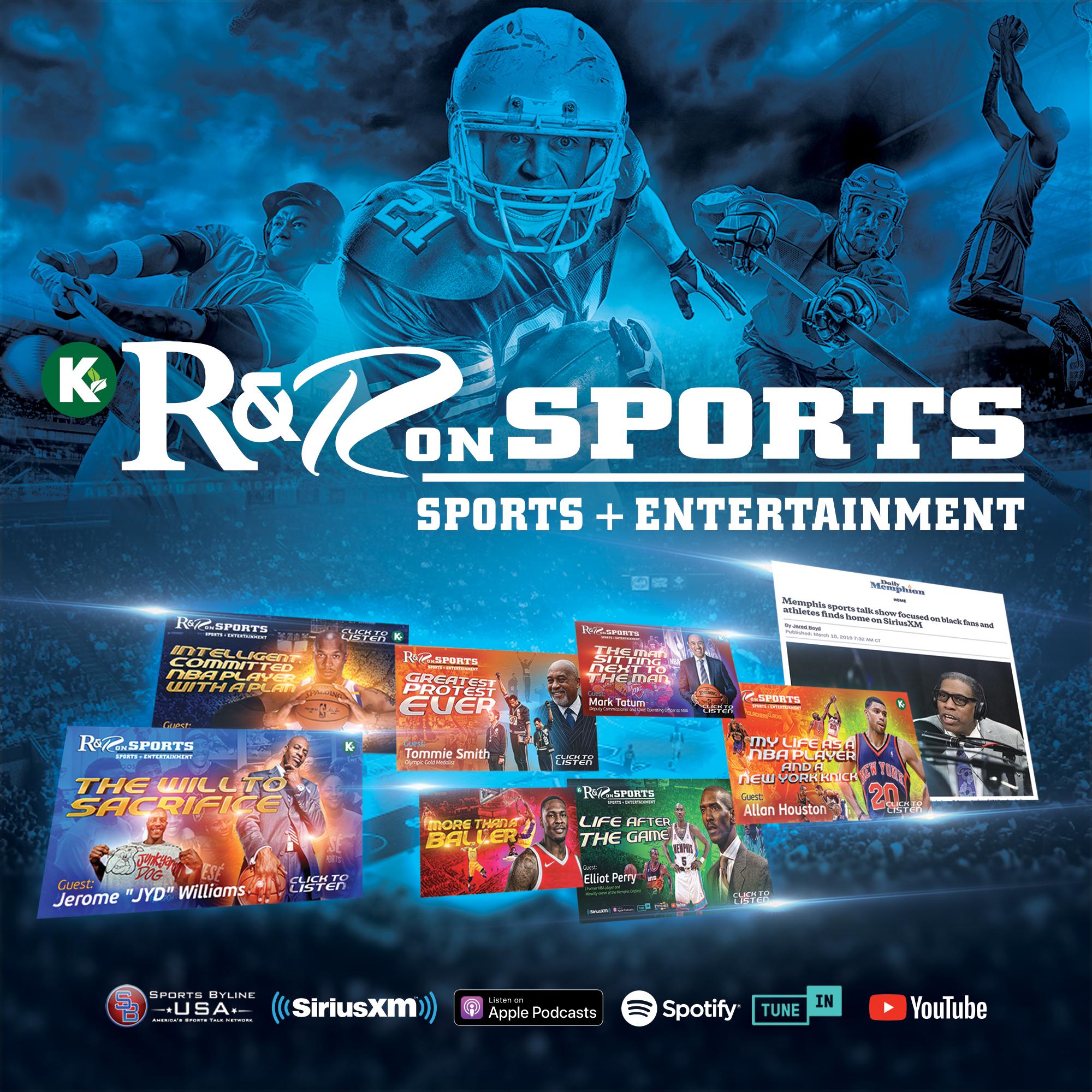 R & R on Sports powered by KUDZUKIAN show art