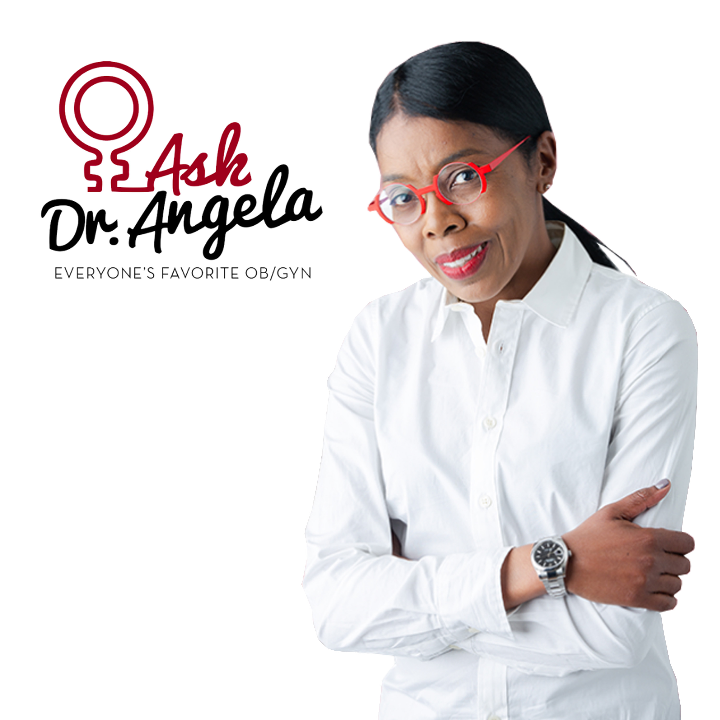 Ask Dr. Angela Podcast show art