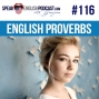 Artwork for #116 Learn English proverbs