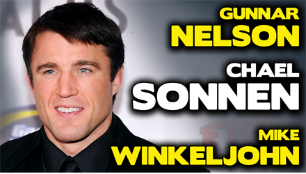 Submission Radio #85 Chael Sonnen, Gunnar Nelson, Coach Wink, Elias Cepeda