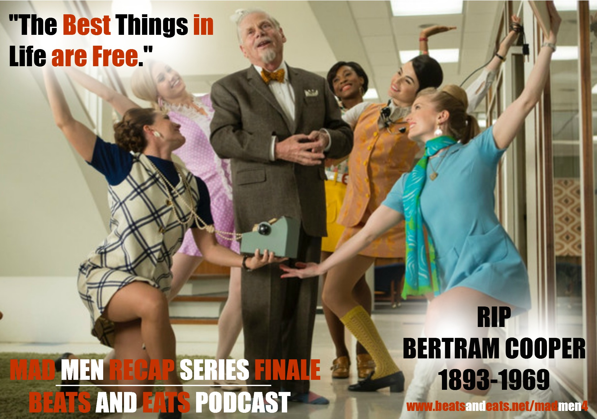 B&E: Mad Men Recap Season Finale | Episode 7 | Season 7 Part 1 Finale | AMC