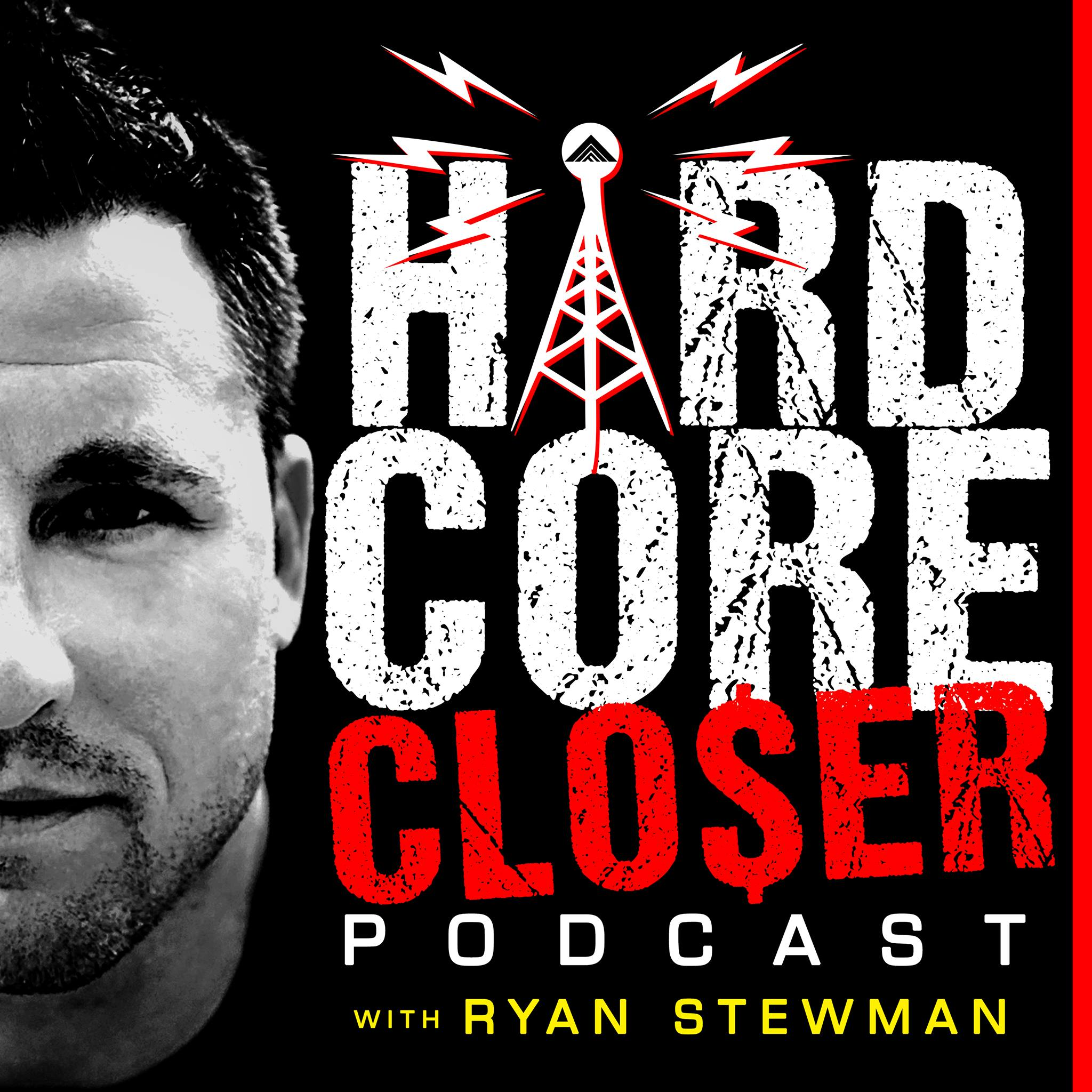 The Hardcore Closer Podcast show art