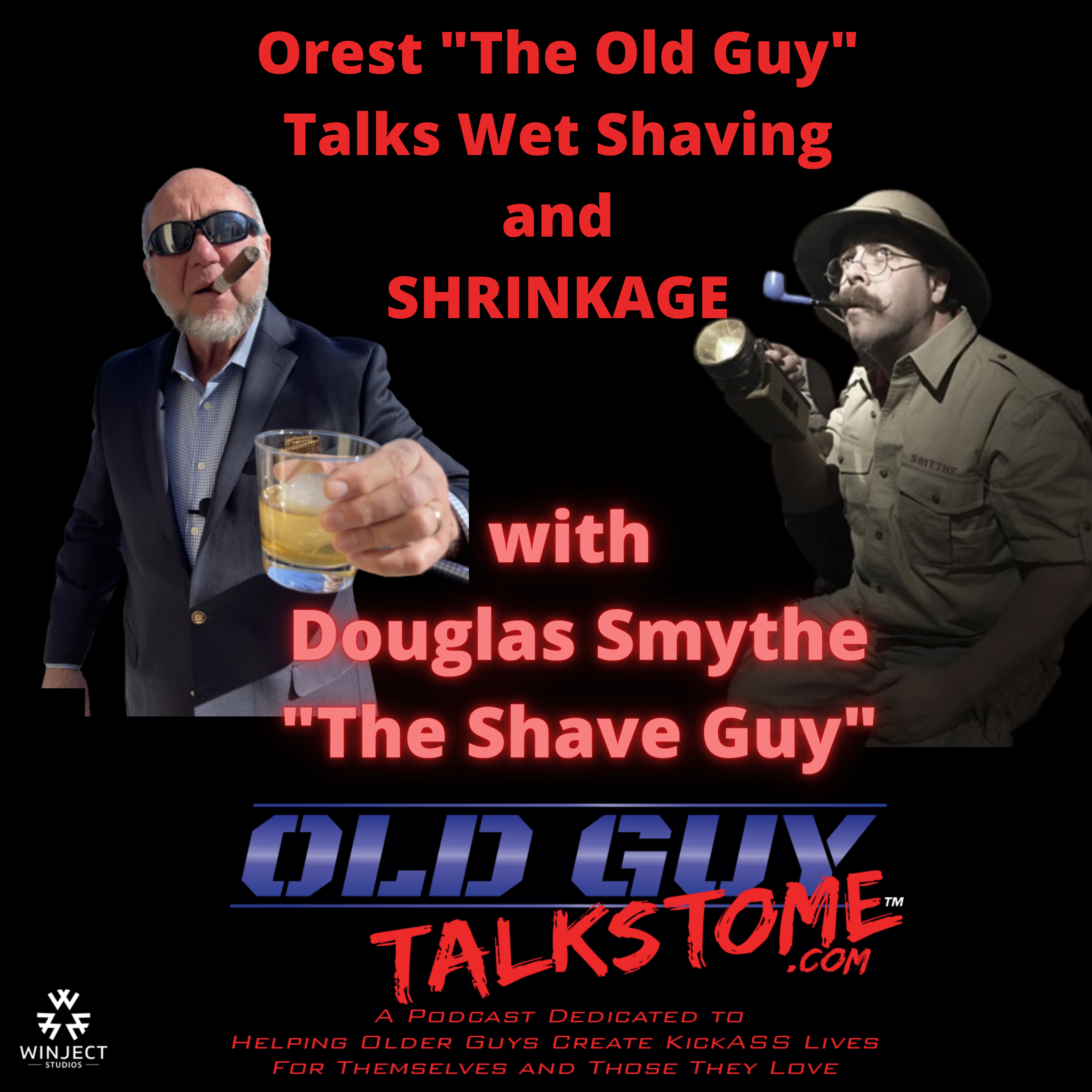 OldGuyTalksToMe - The Old Guy Talks Wet Shaving and SHRINKAGE with Douglas Smythe