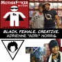 "Artwork for BLACK. FEMALE. CREATIVE.  -  Adrienne ""Adri"" Norris"