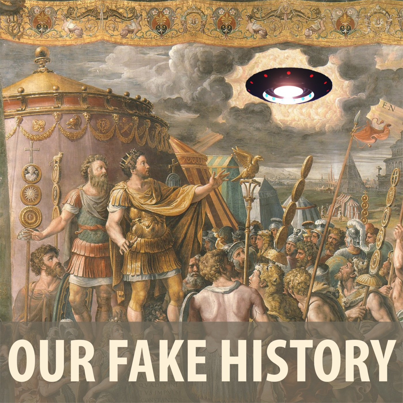 Our Fake History show art